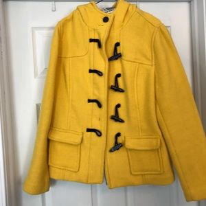 Old navy wool pea coat large